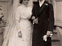 A szülők, Sohonyai Gizella és Rácz Ferenc Fotó: Faragó